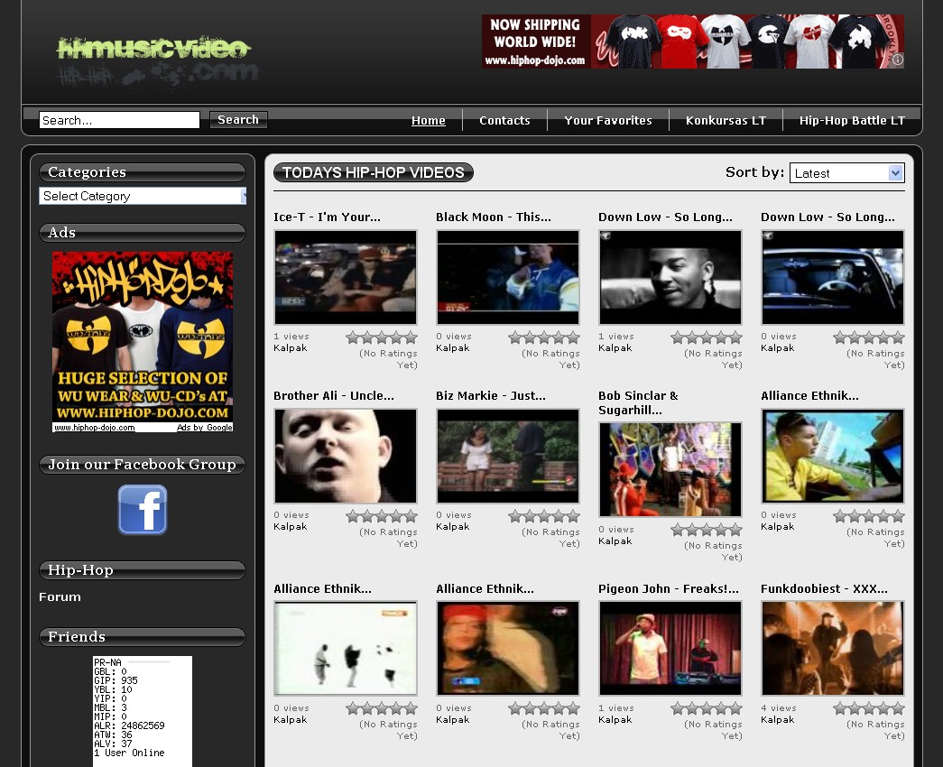 Hip-Hop Music Videos and movies