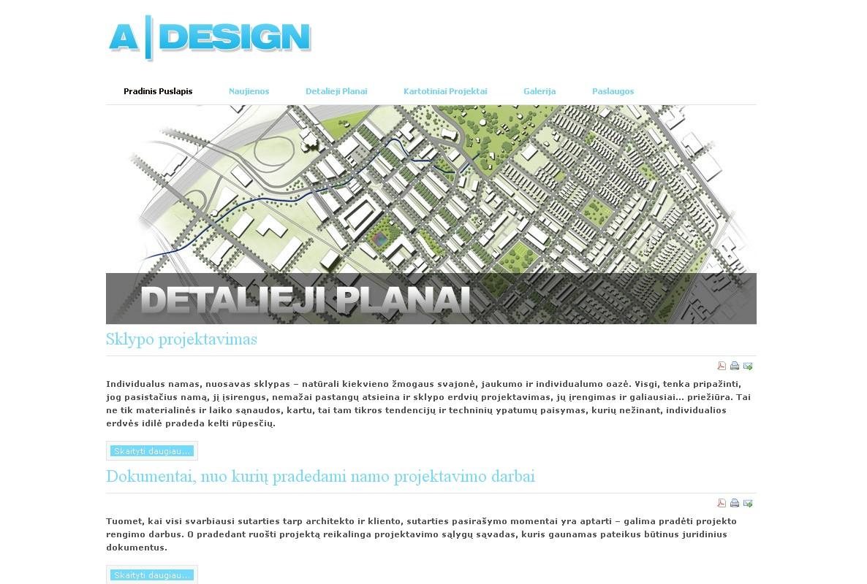 A|Design architektūros ir projektavimo studija