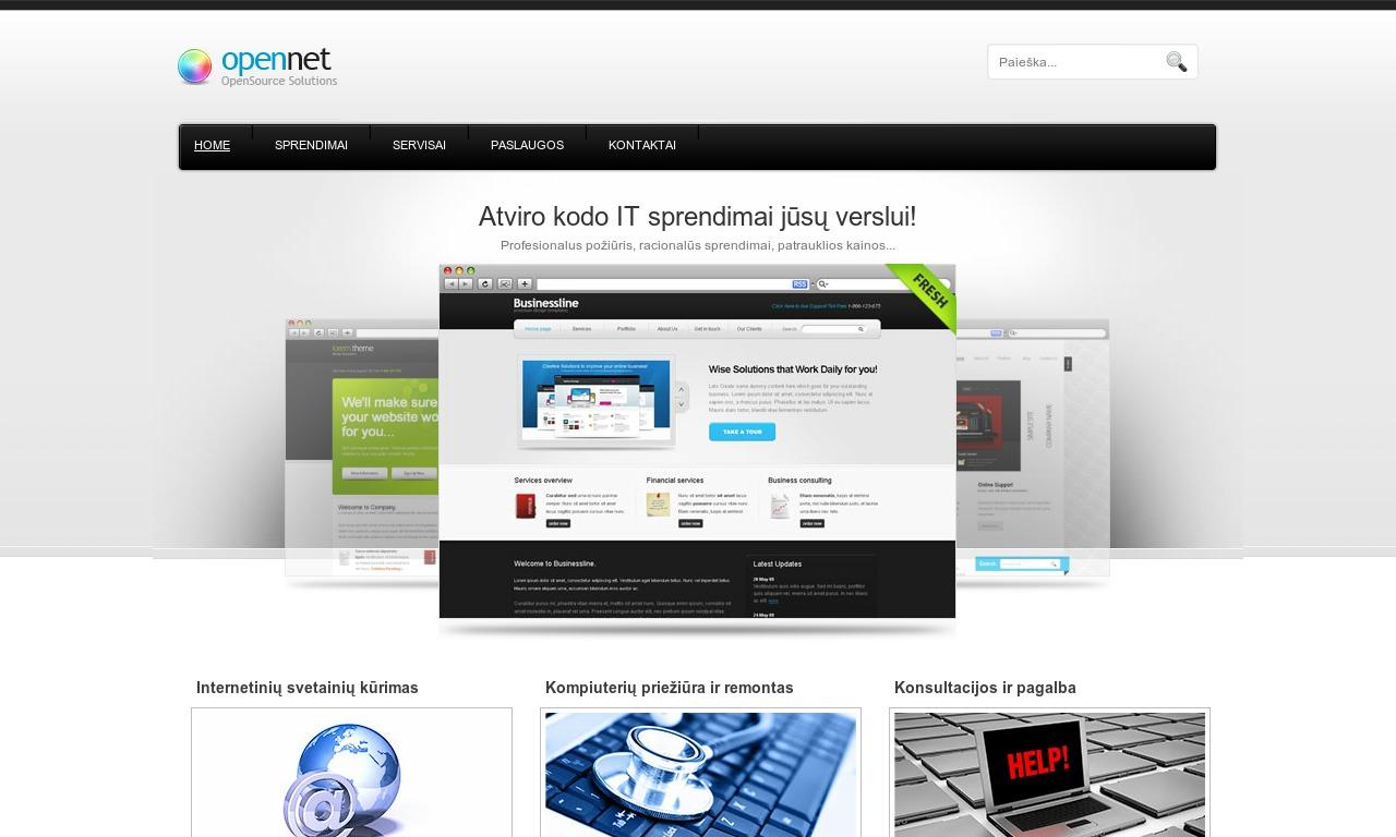 linux, unix, atviras kodas, virtualizacija, kompiuteriu remontas, priežiūra, pašto serveris, firewall, antispam, monitoring, intranet, helpdesk, outsoursing