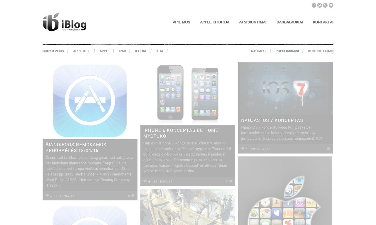 iBlog.lt Apple Bendruomenė