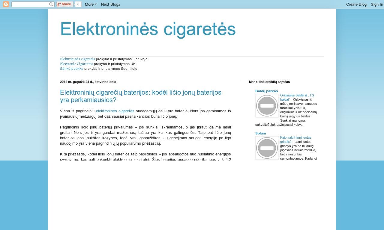 Elektroninescigaretes.lt