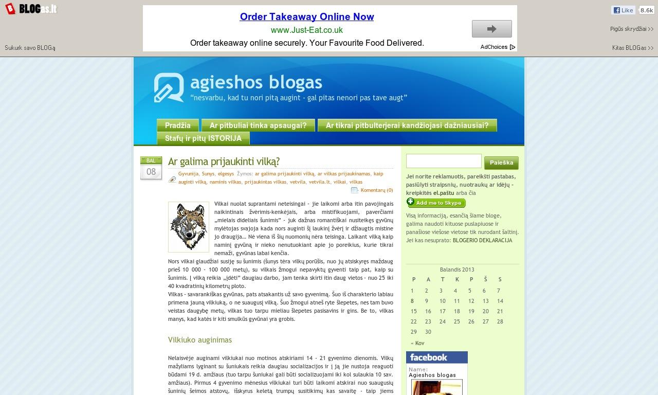 agieshos blogas