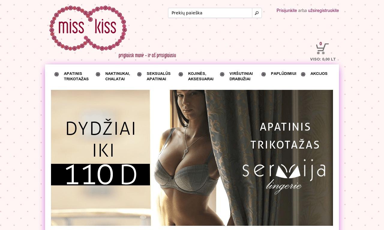 www.MissKiss.lt