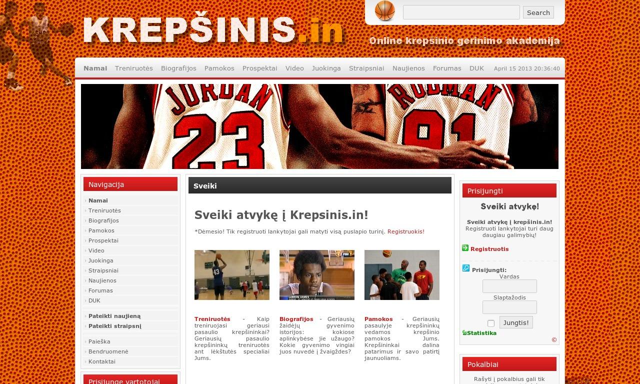 Krepšinio tobulinimo programos - Tapk krepšininku!