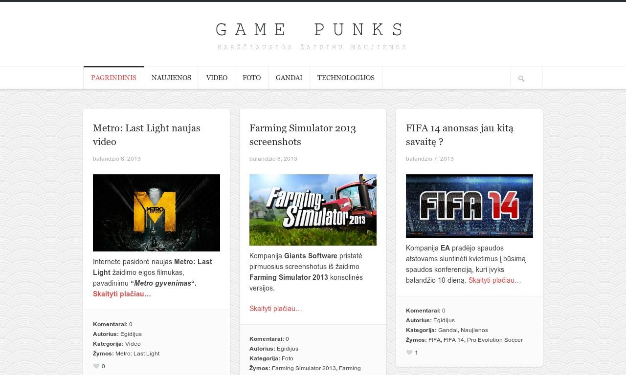 Game Punks