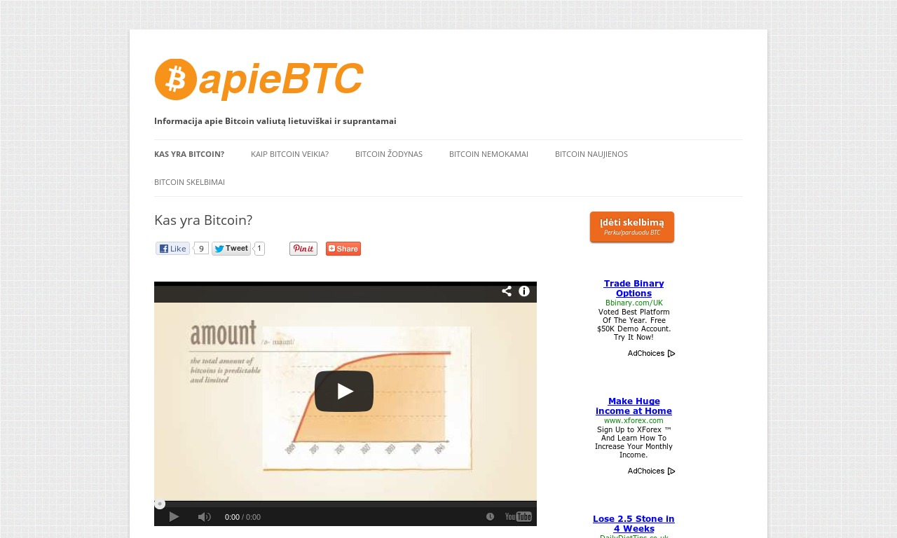 Apie Bitcoin