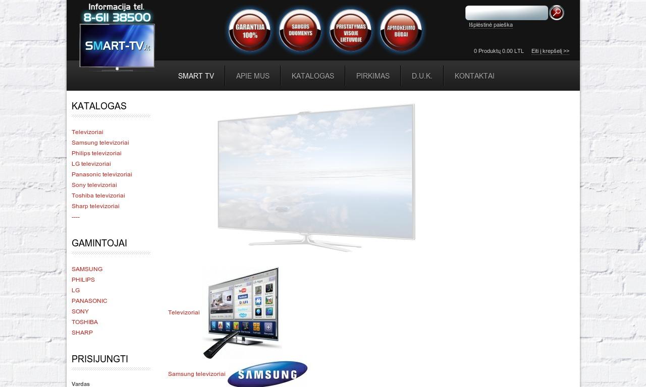 Televizoriai Smart TV